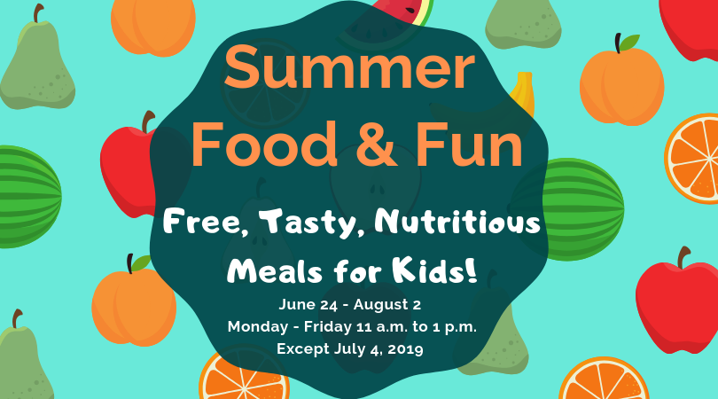 Summer Food Service Program (SFSP) 2019